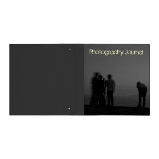 Photo Journal/Photography Company Binder