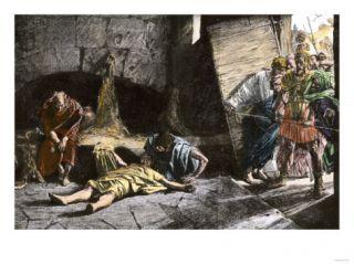 Suicide of Roman Emperor Nero, 68 Ad Giclee Print