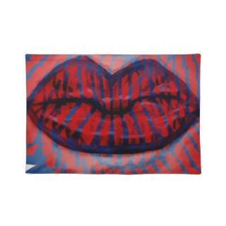 Red Hot Lips placemat