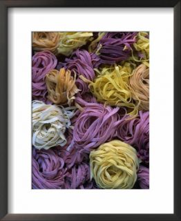Balls Of Coloured Pasta From Vilasimius, Sardinia, Italy Pre made Frame