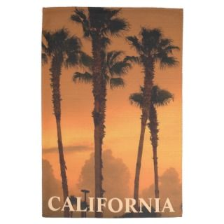 California Palm Trees Gold Coast MoJo Kitchen Towe Hand Towel