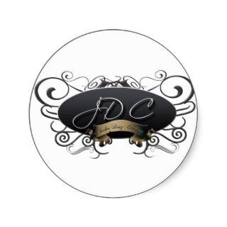 JDC Logo Circle Sticker
