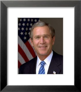 U.S. President George W. Bush Pre made Frame