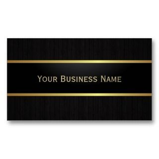 Black Metal Belt Dark Wood Business Card business cards by cardfactory