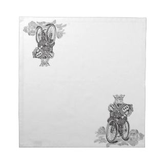 Bicycle® Joker King on a Bike Napkin
