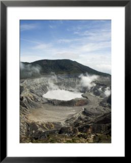 Poas Volcano, Poas National Park, Costa Rica Pre made Frame