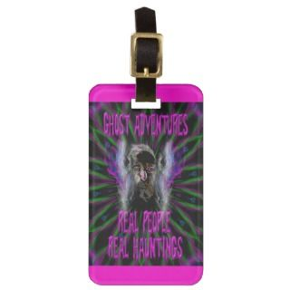 Ghost Adventures Travel Bag Tags