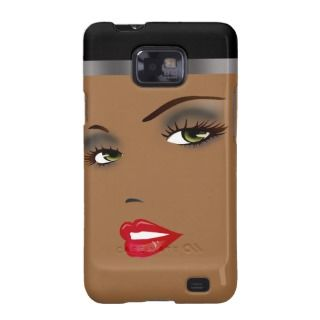 Bronze Beauty Pinup 1 Femme Fatale Diva Samsung Galaxy S Covers