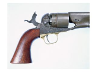 Colts New Army Model of 1860 .44 Calibre Six Shot Percussion Cap Revolver Giclee Print by American School