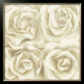 Four White Roses Pre made Frame