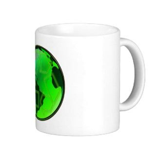 Recycle and Save the Earth Coffee Mugs