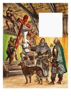 When They Were Young St. Patrick Giclee Print by Peter Jackson