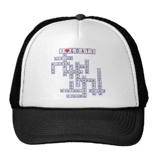 TEMPLATE PUZZLE GOATS HAT