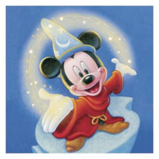 Sorcerer Mickey: Fantasia Magic (detail) Giclee Print