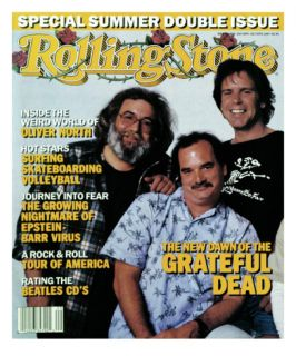 Grateful Dead, Rolling Stone no. 504/505, July 1987 Wall Decal