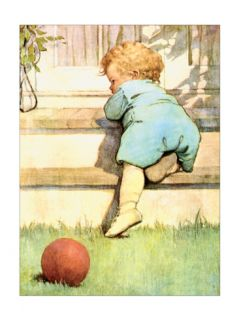 Toddling Baby Print by Jessie Wilcox Smith
