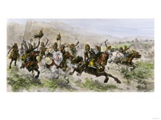 Invasion of Eastern ope by Attila and the Huns, 400s Ad Giclee Print