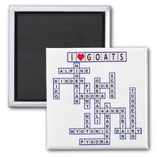 TEMPLATE PUZZLE GOATS MAGNETS