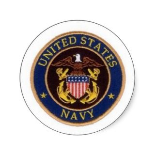 United States Navy Seal Round Sticker
