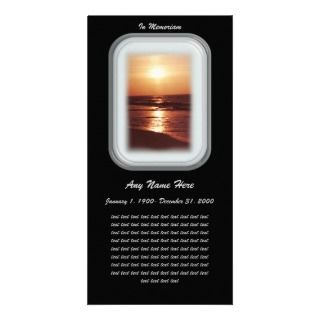 In Loving Memory Photo Cards, In Loving Memory Photo Card Templates