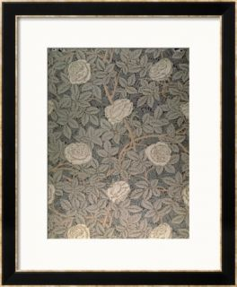 Rose 90 Wallpaper Design Framed Giclee Print