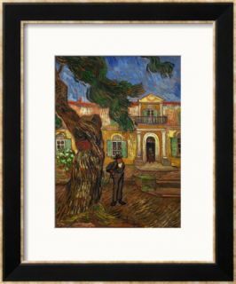 The Hospital of Saint Paul at Saint Remy de Provence, c.1889 Framed Giclee Print