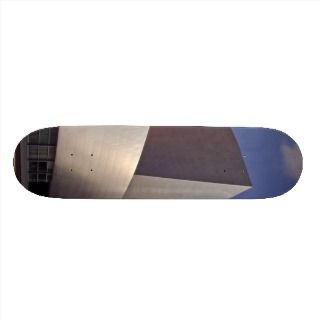 Walt Disney Concert Hall In Los Angeles Custom Skateboard