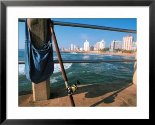 Fishing, Durban, South Africa Pre made Frame