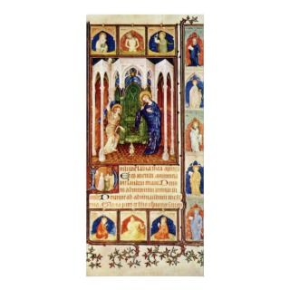 Annunciation By Hesdin Jacquemart De (Best Quality Full Color Rack