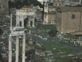 Roman Forum in Rome, with Arch of Emperor Septimius Severus, 146 211 Photographic Print