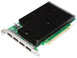 Alles auf einer Grafikkarte Nvidia Quadro NVS 450. Passiv gekühlt