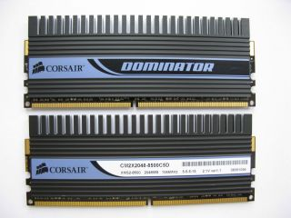GB DDR2 Corsair Dominator 1066 Mhz PC2 8500 (2 x 2GB Kit) High End