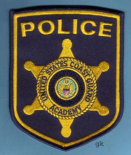 USCG US COAST GUARD ACADEMY POLICE PATCH