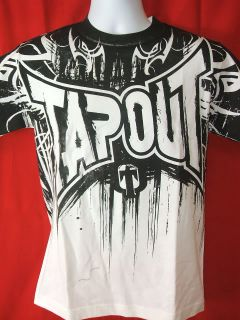 TapouT Dark Dream White T shirt UFC NEW