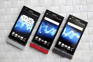 SONY XPERIA P UNLOCKED MOBILE PHONE BLACK LATEST 2012 MODEL
