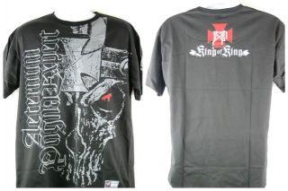Triple H Skull King WWE Black T shirt New