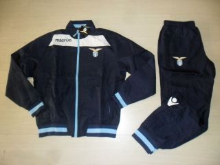 MACRON SS LAZIO TUTA RAPPRESENTANZA TRACKSUIT SURVETEMENT 2013