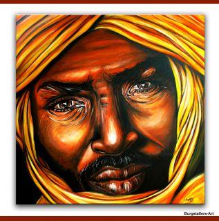 BURGSTALLERS ART Modern Kunst Gemälde Malerei Bilder Leinwand Afrika