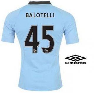 Manchester City Home Trikot 2012/2013 versch. Größen Sky Blau