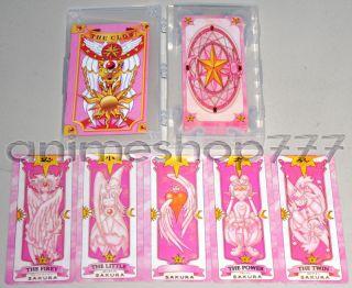 Two Sets 52&55 Card Captor Sakura Clow Cards Cosplay