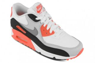 NIKE AIR MAX 90 INFRARED WEISS GRAU GS OG BOX NEU LEOPARD PATTA WMNS