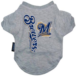 Milwaukee Brewers Pet T Shirt   Clothing & Accessories   Dog