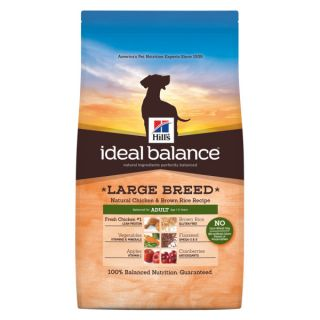 Hill's® Ideal Balance™ Large Breed Adult Natural Chicken & Brown Rice Recipe Dog Food     Sale   Dog