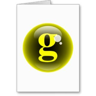 Greeting Cards, Note Cards and Bubble Letter Greeting Card Templates