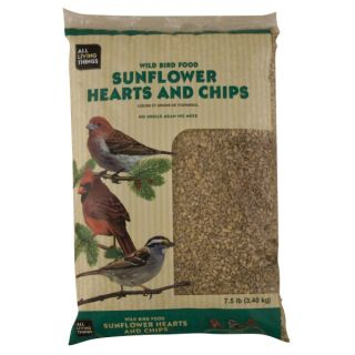 All Living Things™ Wild Bird Food Sunflower Hearts and Chips   Sale   Bird