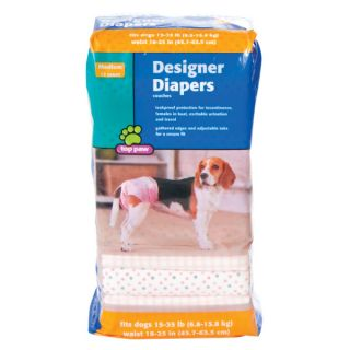 Top Paw™ Designer Diapers for Dogs   House Training   Dog