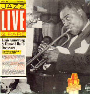 & Edmond Halls Orchestra,Live At Carnegie Hall   Feb 8, 1947