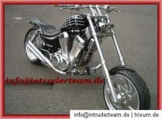 Heckfender Rear fender STEEL Harley Davidson 18  200er Reifen Dyna