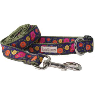 Lola & Foxy Nylon Dog Collars   Wildflower	   Collars   Collars, Harnesses & Leashes