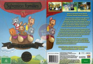 Families Classic Collection 2 DVD NEW 1987 cartoon series 13 episodes
